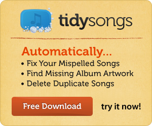 fixtunes ad 468x60 Fix the Missing Tags in your MP3 Files