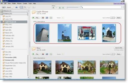 Picasa Image Library