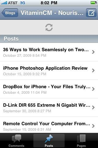 Wordpress 2   iPhone Application Review