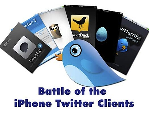 best iphone twitter app Battle of the iPhone Twitter Clients