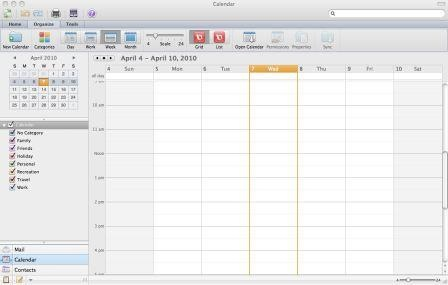 Microsoft Outlook 2011 for mac