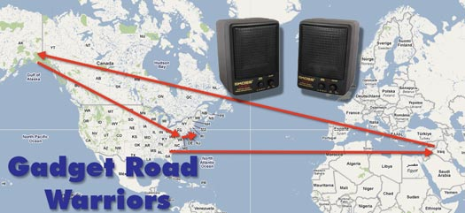 gadget road warriors Retro Technology Product Review (From Iraq to the Hamptons)