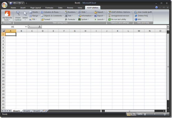 asapribbon thumb Become an Excel Guru with ASAP Utilities
