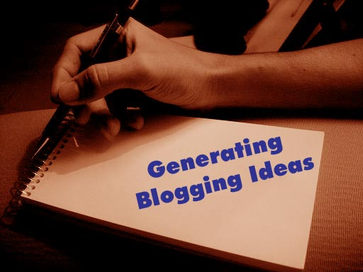 Generating Blogging Ideas