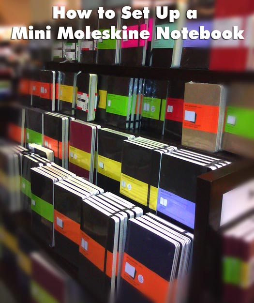 how-to-set-up-moleskine-notebook