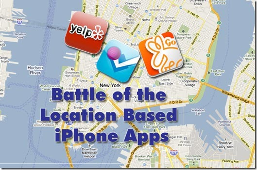 location based iphone apps