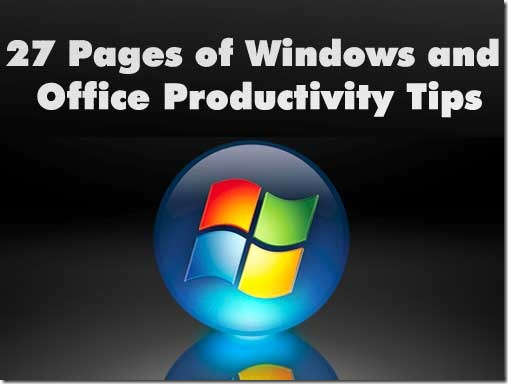 windows productivity tips