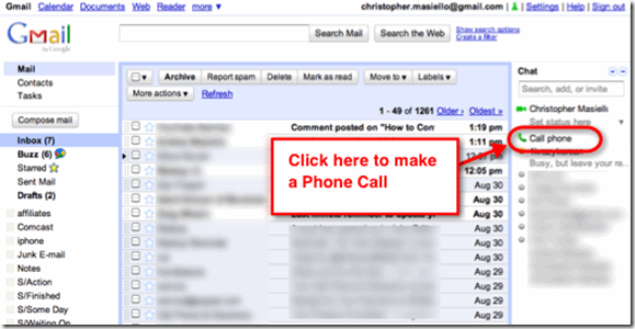 clip image002 Make Free Phone Calls from Gmail