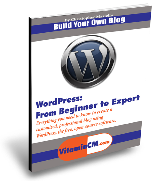 WordPress from beginner to expert ebook cover