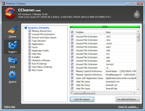 ccleaner The Fastest Way to Remove the Trial Crapware from a New PC