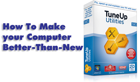 TuneUp Utilities Software Tutorial