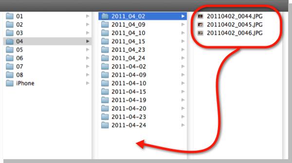 Finder folders