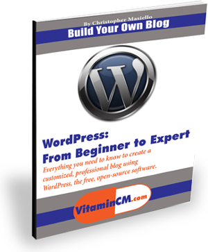 wordpress from beginner to expert 300px Sign Up for the Newsletter   Get My Ebook Free