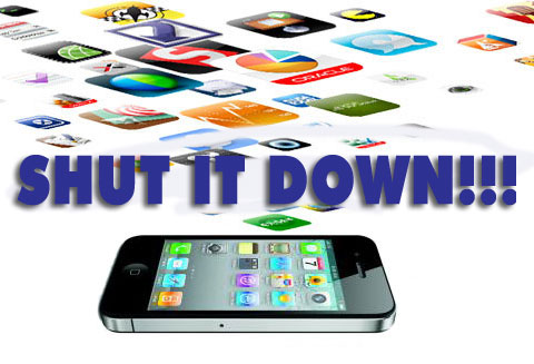 iphone shut down running background apps iPhone Quick Tip   Shutting Down Background Apps