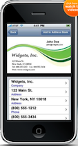 ScanBizCards business card app