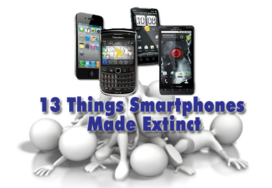 13 things smartphones made extinct