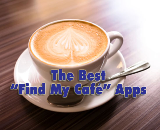 Find your cafe iphone apps