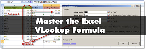 excel vlookup tutoria Master the Excel VLookup with this Simple Tutorial