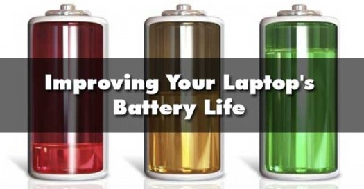 Saving Your Laptop's Battery Life