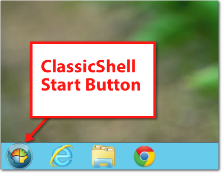 classicshell start button Fixing Windows 8   How to Add a Start Button