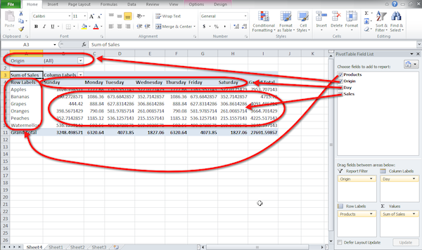 excel pivot table tutorial 05 Excel Pivot Table Tutorial