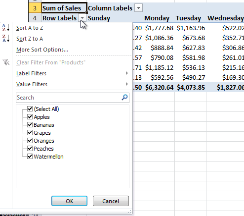 excel pivot table tutorial 10 Excel Pivot Table Tutorial