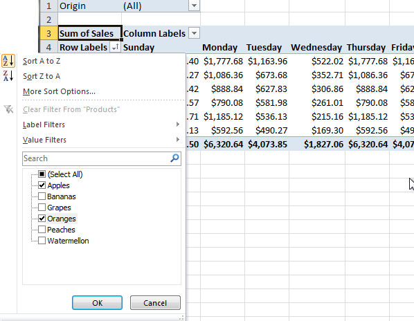 excel pivot table tutorial 11 Excel Pivot Table Tutorial
