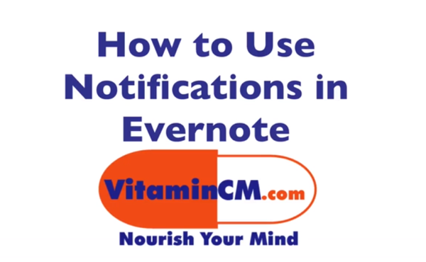 evernote reminders tutorial How to Add Reminders in Evernote   Video Tutorial